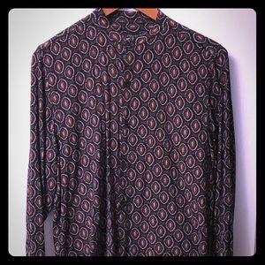 Zara Tribal Long Sleeve Print